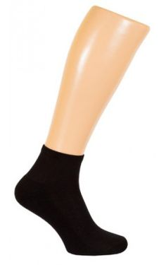 """Купить носки укороченные из гребенного хлопка с добавлением эластана """"Махровый след"""""""