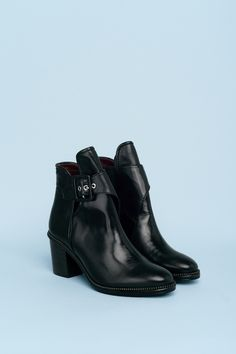 Leather Booties | B56