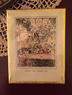 New Old Stock - Unopened Antioch Bookplates - Potting Shed - Ephemera