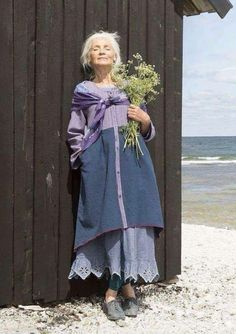 Tunics – Gudrun Sjödén - Swedish design with a green soul & online Mori Girl, Bohemian Mode, Boho Chic, Beautiful Outfits, Cool Outfits, Boho Fashion, Womens Fashion, Fashion Tips, 2000s Fashion