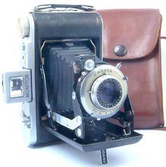 Kodak Monitor Six-20 Folding 620 Roll Film Camera - USA c1939-48