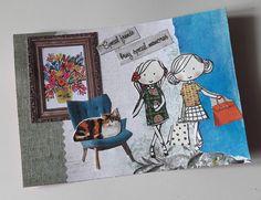 My latest #flowmeisje collage, it is a postcard not an envelope #collage #flowmeisje #flowmagazine #handmade