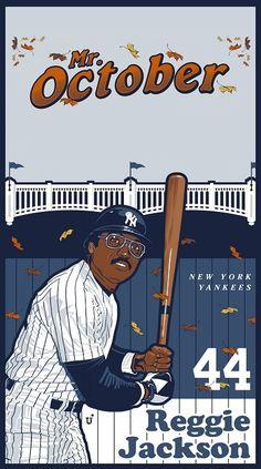 Reggie Jackson, Sports Art, New York Yankees, Memes, Meme