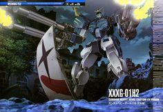 GUNDAM GUY: Mobile Suit Gundam Mechanic File - Gundam Heavy Arms Custom EW Ver