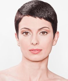 Lesson 5 -Short Round Uniform Layer With Conical Crown   Pixie Cut Variations   Online Hair Cutting Course - MHDPro