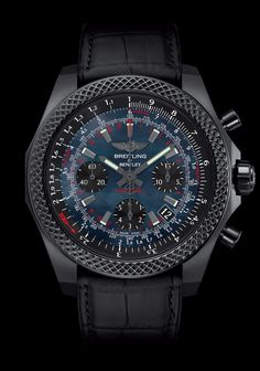 Bentley B06 S Midnight Carbon - Breitling - Instruments for Professionals