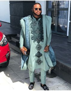 African Male Suits, African Wear Styles For Men, African Shirts For Men, African Dresses Men, African Clothing For Men, African Attire, African Clothes, Nigerian Men Fashion, African Print Fashion