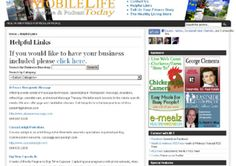 add a link to your website on my Health and Wellness Helpful R... by mobilelife