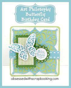 [Video]Art Philosophy Butterfly Birthday Card