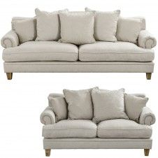 Lucerne Florentine 3.5 and 2.5 Seater Sofa's. From the Early settler.