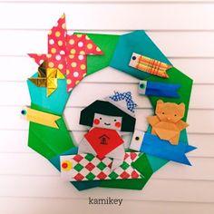 子どもの日、端午の節句の折り紙
