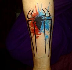 Post with 5 votes and 8614 views. My Spiderman Tattoo Done by Josh Avery, Loyalty Tattoo, Utah. Symbol Tattoos, Body Art Tattoos, Sleeve Tattoos, Tatoos, Spiderman Tattoo, Marvel Tattoos, Couple Tattoos, Tattoos For Guys, Men Tattoos