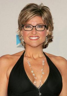 Ashleigh Banfield - TV newscaster and famous glasses wearer. One of my ...