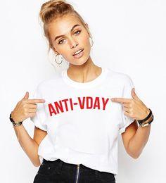 anti valentines day t shirt