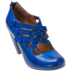 TARDIS bluetiful shoes!  Buy Whisky Purple Cobalt Black Red Miz Mooz Women's Scarlett Pump Shoe shoes
