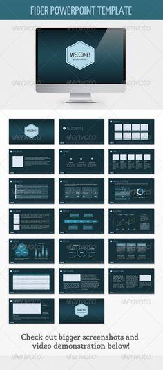 Fiber PowerPoint Template
