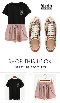 """""""SG🔠"""" by lady-shadylady ❤ liked on Polyvore featuring Gucci"""