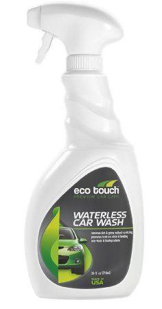 Amazon.com: Eco Touch WCW24 Waterless Car Wash 24 oz: Automotive