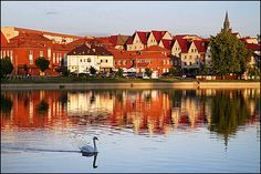 My father's hometown - Elk, Poland