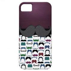 Retro Mustache Moustache iPhone 5 Cases