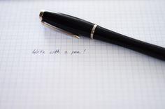Pióro wieczne i jego 5 największych zalet | 5 benefits of writing with a pen justineyes.com #piorowieczne #pen #parker