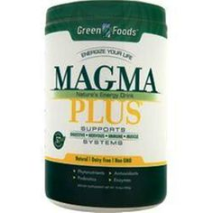 You're Getting Better Quality Supplements for your Money!  1-2-3 GREEN FOODS Magma Plus - The Ultimate Superfood 11 oz Top Quality Save U #GREENFOODS