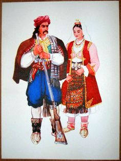 Bosnia Herzegovina Folk Costume Mostar-2