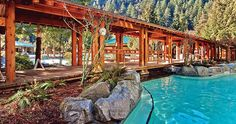 by Tamara Muldoon| Photo © Harrison Hot Springs If there is a benefit to living along the Ring of Fire, it has