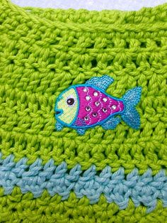 Sparkle fish dress w/ headband