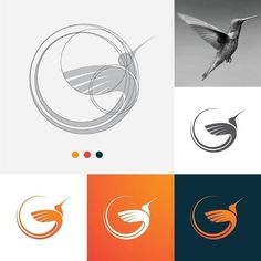 Great post by @logobucket_co on Twitter. Nice design asset. Great work!. Logo Typo, Typographic Logo, Fashion Logo Design, Web Design, Logo Minimalista, Logo Sketches, Bird Logos, Photography Logo Design, Geometric Logo