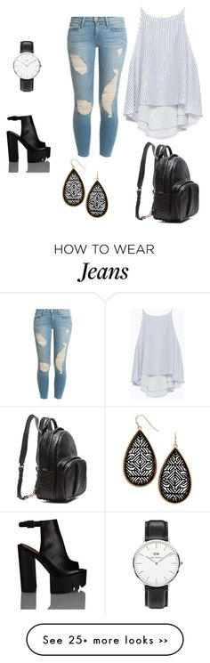 """""""casual with jeans"""" by elisa-lee-heng-hui on Polyvore"""