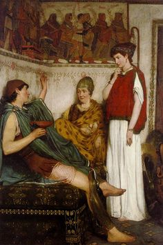 Unwelcome Confidences - Sir Lawrence Alma-Tadema - WikiPaintings.org