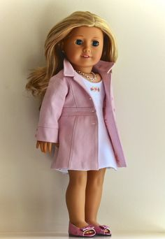 18 inch American Girl  Doll Clothing Sheath by Simply18Inches, $95.00