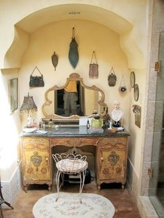 dECORATING with antique purses - Google Search