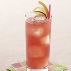 Seabreeze - 3/4 to 1 cup ice cubes, 2 oz vodka, 3 oz cranberry juice, 2 oz white grapefruit juice, GARNISH: Grapefruit and lime slices... Place ice in a highball glass. Pour the vodka and juices into the glass; stir. Garnish as desired. Yield: 1 serving
