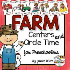 This FARM resource has everything you need to create a fun, engaging and learning-filled unit for your preschoolers. It includes 10 Circle Time Lessons:1. Introduction - What is a Farm?2. Farm Graphs3. Farm Concept Sort - Farm vs. Ocean4. Animal Sounds Song5.