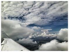 Wolken, Vögel und Menschen