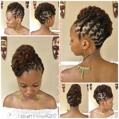 Cute Bob Hairstyles - February 06 2019 at Short Dreadlocks Styles, Black Hair Updo Hairstyles, Dreadlock Styles, Dreadlock Hairstyles, African Hairstyles, Braided Hairstyles, Hairstyles 2016, Wedding Hairstyles, 1940s Hairstyles