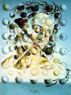 Galatea of the Spheres, Salvatore Dali... spheres captivate me