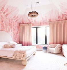 Pretty in Pink Bedroom - The English Room