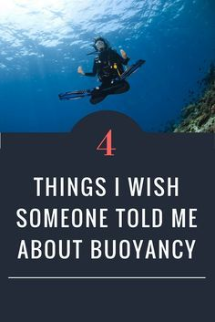 As divers, we are guests of the underwater world, where good buoyancy is synonymous with good manners.