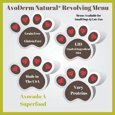 #AvoDermNatural® Revolving Menu Dog Food Why and Where #sponsored