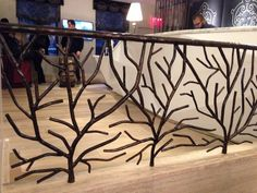 Best Our Signature Tree Branch Style Made Into A Fence Fence 640 x 480