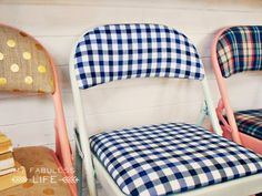 Whipperberry: Drab to Fab Folding Chairs