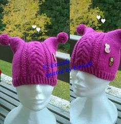 Knitted Hats, Crochet Hats, Beanie, Knitting, Crafts, Biblia, Caps Hats, Knitting Hats, Manualidades