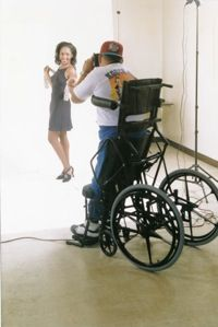 A Photographer in a Standing Wheelchair>>> See it. Believe it. Do it. Watch thousands of spinal cord injury videos at SPINALpedia.com