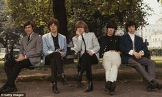 The Rolling Stones photographed in London, 1964