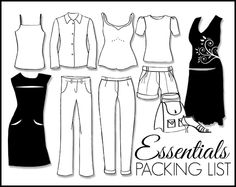 Whether you're going on a Round-the-World journey, 1 week business trip, or a two week vacation, the Travel Essentials Packing List shows you how to pack light and have the right clothes for any trip.  A ten piece packing list is the ideal quantity of clothing to create the perfect capsule wardrobe. It also acts as the core of a larger wardrobe. This is the ultimate minimalist packing list that everyone can follow!