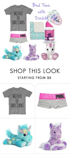"""Bed Time"" by bri-bri26 ❤ liked on Polyvore featuring Victoria's Secret and Aurora World"