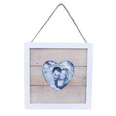 Drewniana ramka na zdjęcie w kształcie serca lovelypassion.pl #shabbychic #vintage #country #shop #decor #home #dom #dekoracja #inspiration #beautiful #photo #frame
